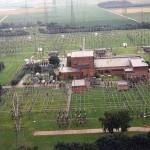 Luftbild der Elektrothek Osterath